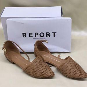 Report Shoes. Orielle TanColor. Size 8-1/2 Ladies